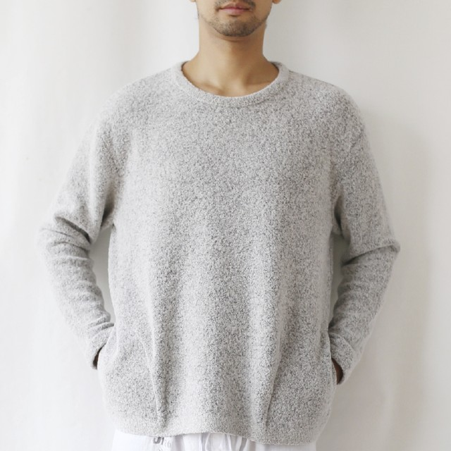 410001 Relax-fit Pullover(ライトグレー)