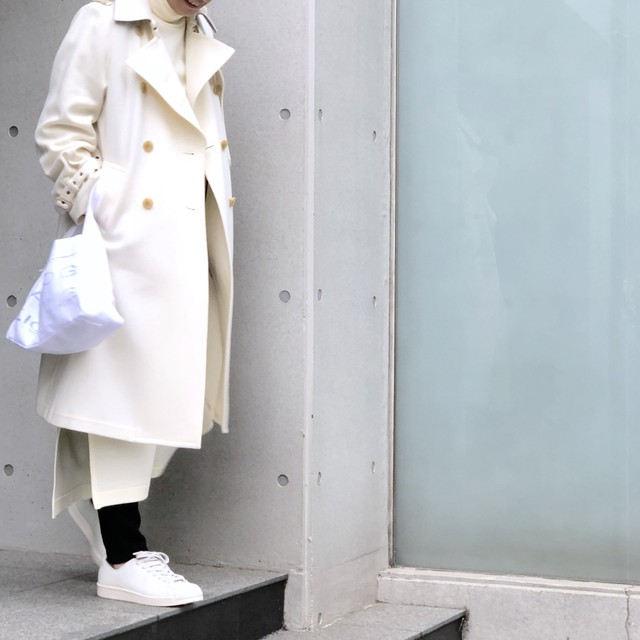 Trench Coat/WHITE