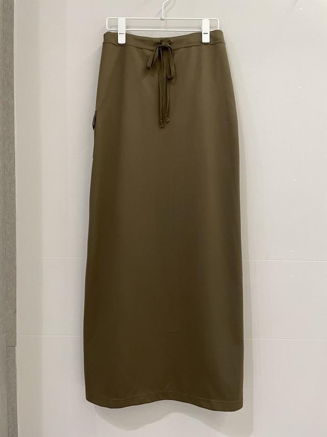 vintage jersey cargo skirt