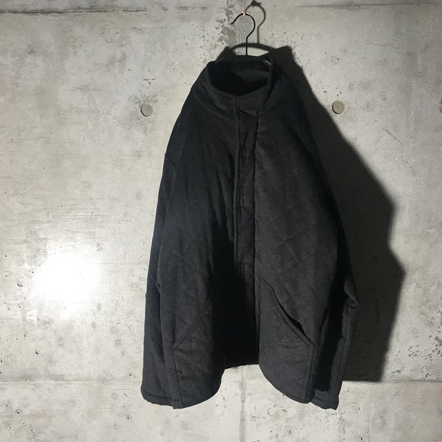 [GIVENCHY]dark gray quilting jacket