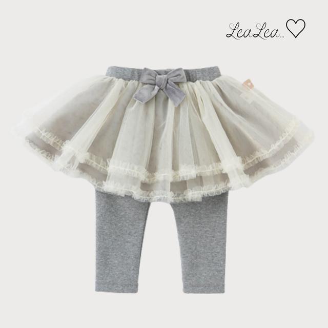dave&bella♡チュールスカート付きレギンスパンツ(66cm-130cm)| LeaLea...♡(レアレア)-海外の子供服セレクトショップ