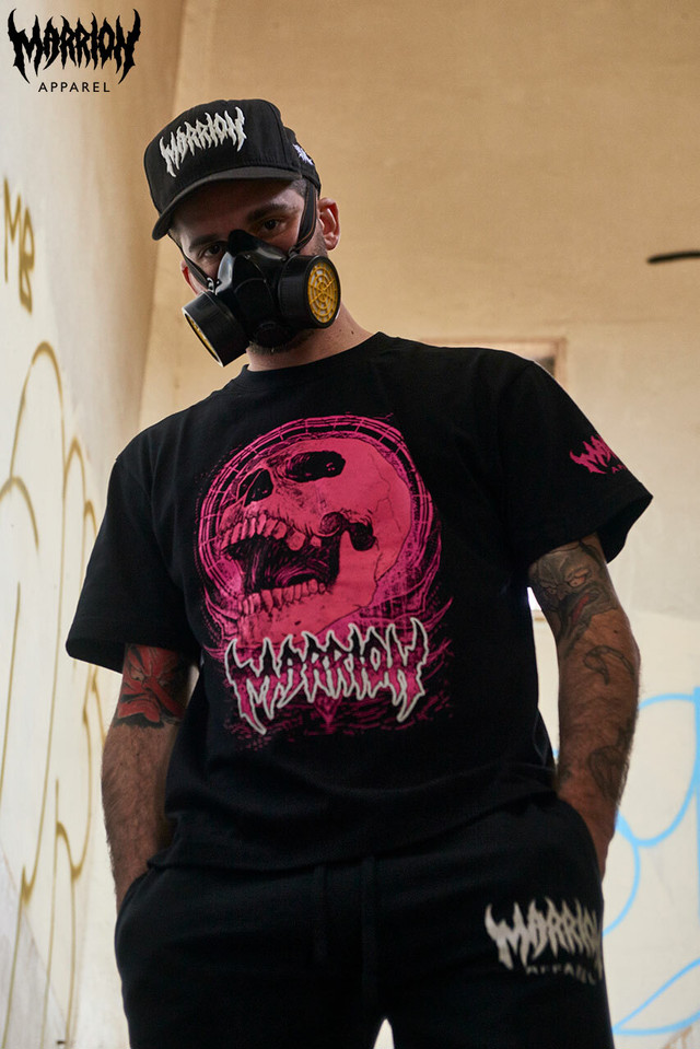 Bangsart × Marrion Apparel Tee (Black×Pink)