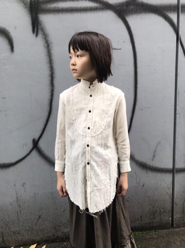 GRIS 20AW Cut Off Shirts Sサイズ (natural) GR20AW-SH008 送料無料