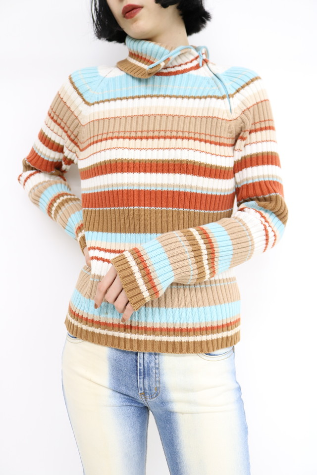 mulch border turtle knit / TP11040004