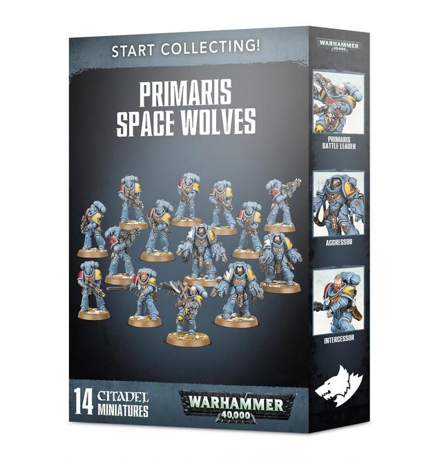 START COLLECTING! PRIMARIS SPACE WOLVES スタートコレクティング プライマリススペースウルフ