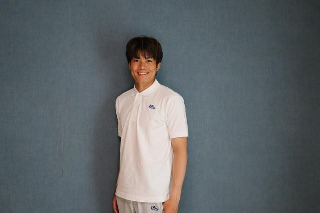 コットン鹿の子ポロシャツ(ホワイト)