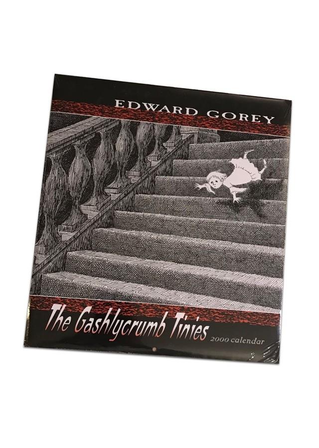 EDWARD GOREY The Gashlycrumb Tinies 2000 calendar