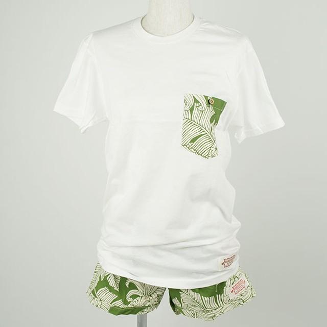 レディース Tシャツ&パンツセット グリーン(サイズS)/Wahine-LANI-W1101-2SET GR S