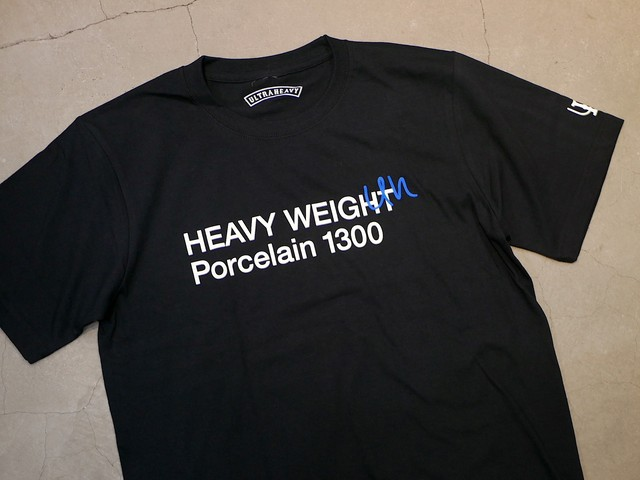 U.H / HEAVY-WEIGHT TEE(PORCELAIN 1300)