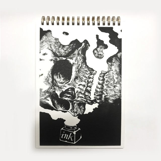 Yossie Thrashgraphics / Letter Press Book by Tracepop Gallery