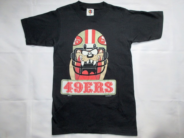 San Francisco 49ers - NFL -1993 Warner Bros. T-SHIRTS / made in USA / Dead Stock