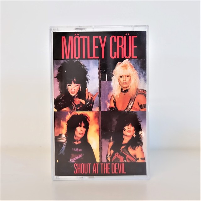 [中古カセット]  Mötley Crüe ‎– Shout At The Devil