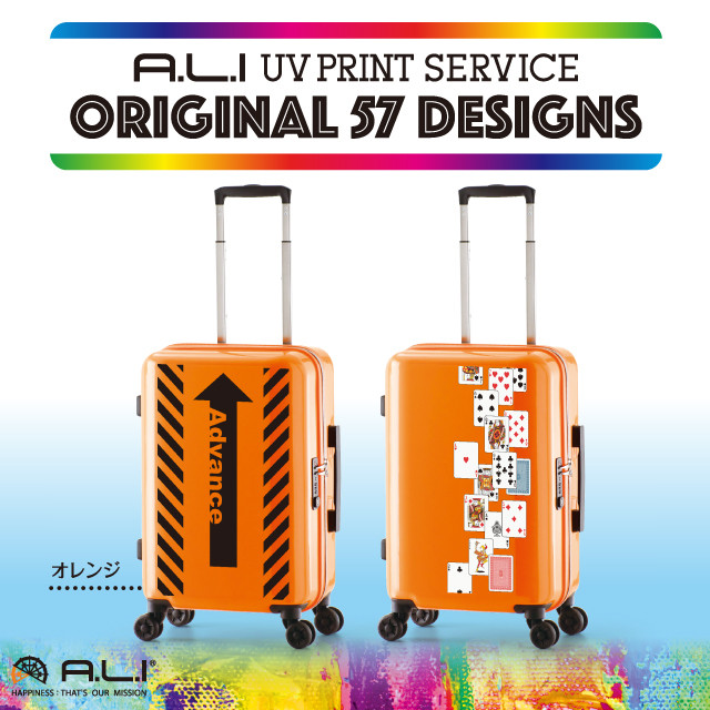 【UV PRINT】ORIGINAL 57 DESIGNS ADY-1100-18.5 オレンジ