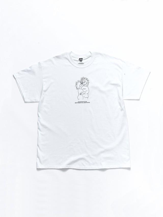 MONTMARTRE NEWYORK PUNK LOVE TEE White T-4