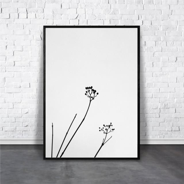 アートポスター Minimalist Flowerデザイン