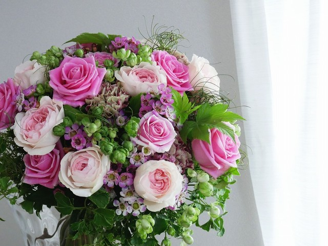 Fresh flower*Roses bouquet(季節のフレッシュローズのブーケ)