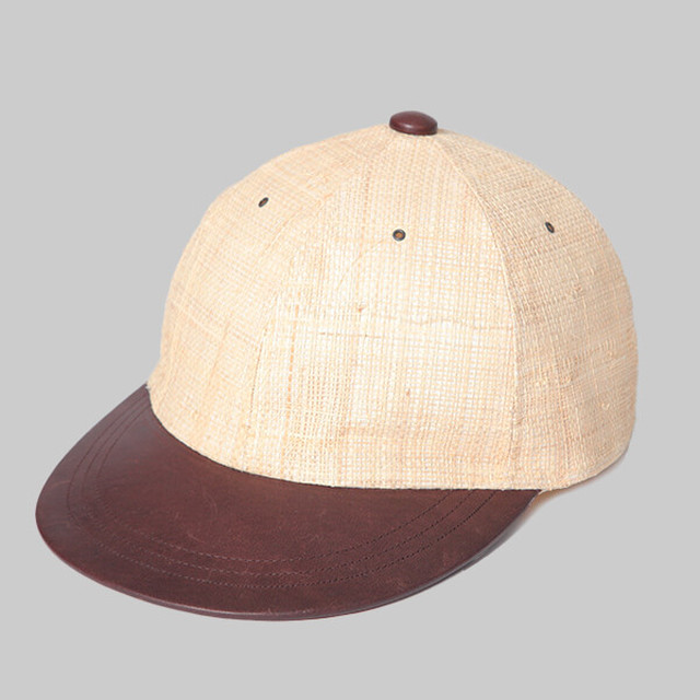 CHAHCHAH×SOLARIS  SAFARI CAP-NATURAL