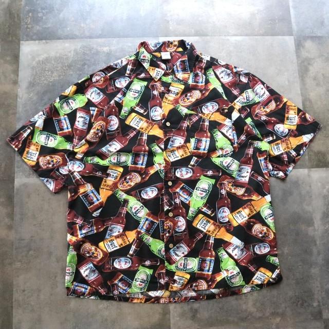beer pattern design shirt