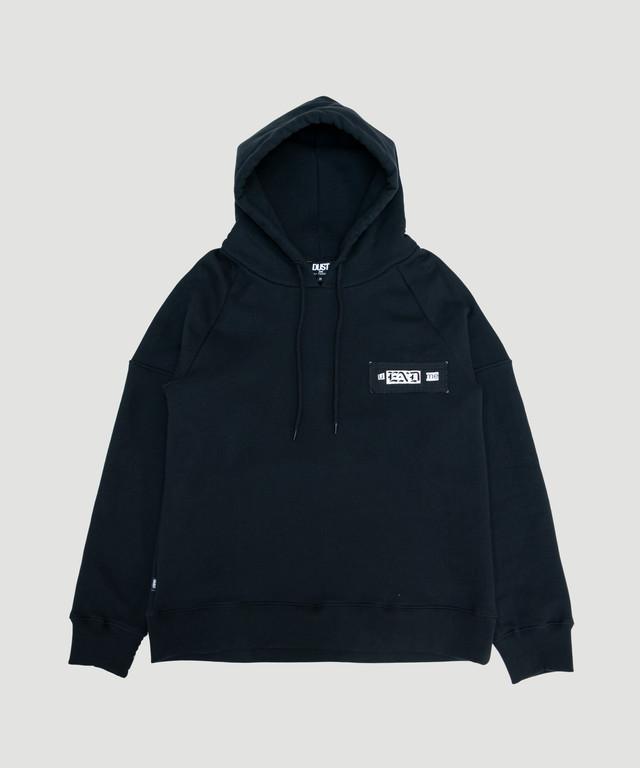 DUST End Hoodie Black Style2-TTP3-B