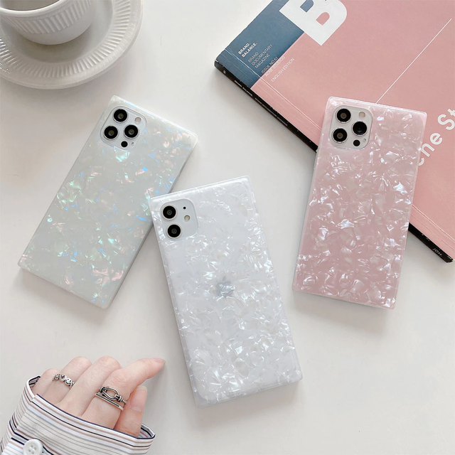 Square shell iphone case
