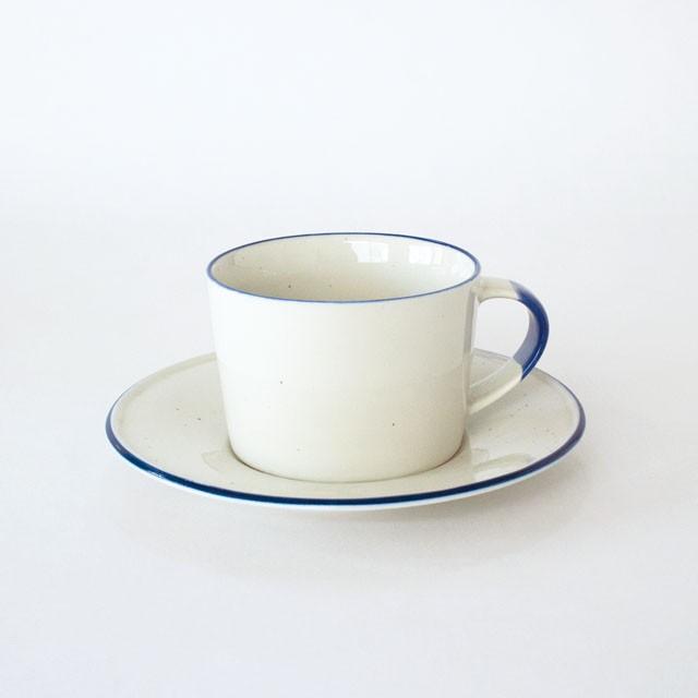 Manses Design OVANAKER CoffeeCup with Saucer (Blue Line) 250ml コーヒーカップ ソーサー 磁器 北欧 スウェーデン 自然 ナチュラル デザイナーズ ブランド シンプル スタイリッシュ 食器 テーブルウェア プレゼント ギフト 引っ越し お祝い