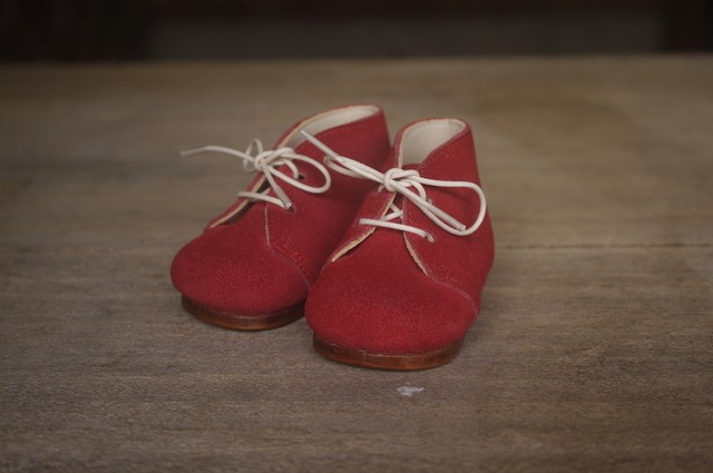 memorial shoes (RED)