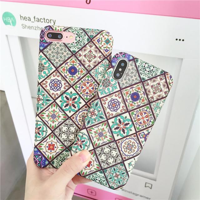 モロッコ柄 iPhone case