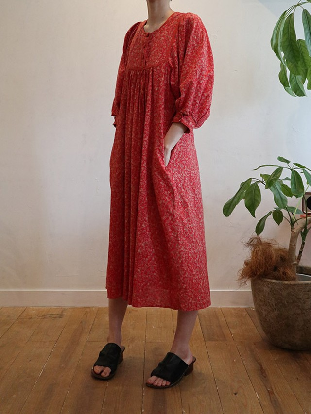 70s lodon cotton dress