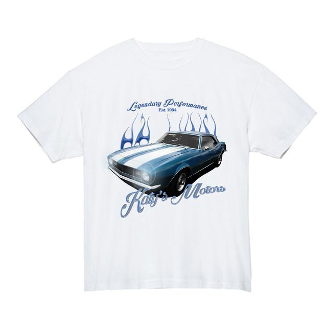 【Cat & Parfum】Katy's Motors Classic Souvenir Tee