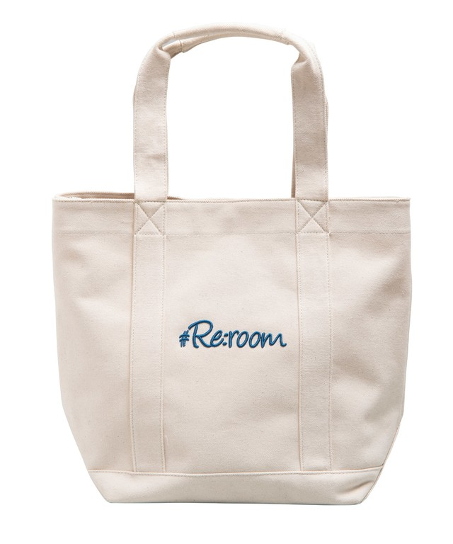 3D LOGO CANVAS TOTE BAG[REB024]
