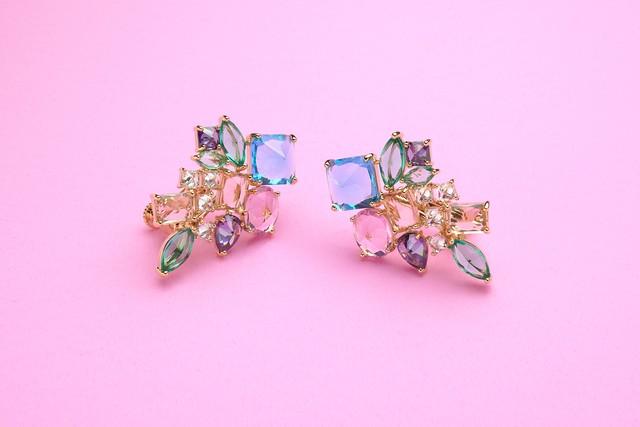 Kaleidoscope ( Pierce/ Earrings )