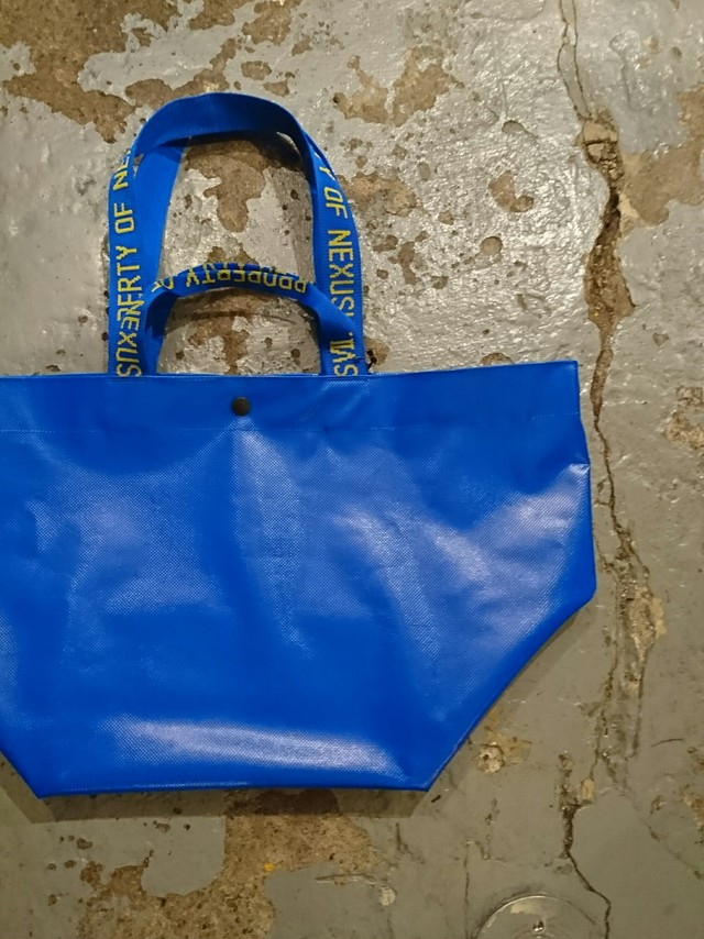 "NEXUSⅦ ""ALL WEATHER TOTE - L"" BLUE COLOR"