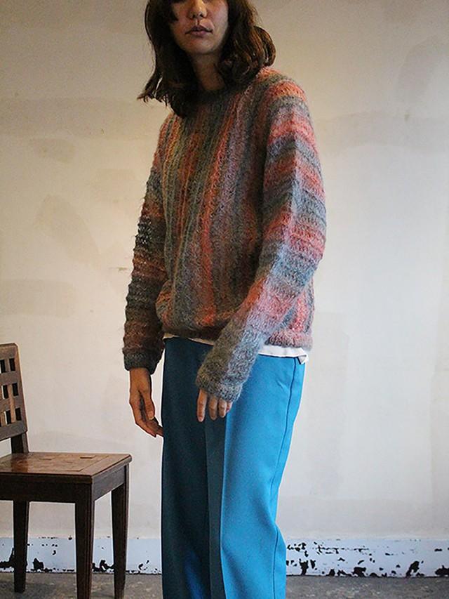 70s london vinatge  mohair Knit