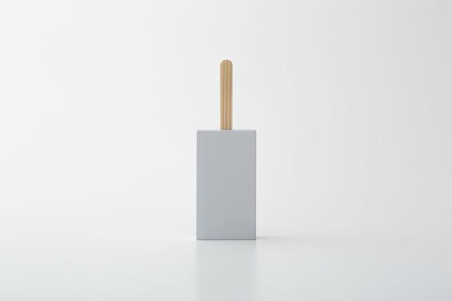 ice pop : 四角 (グレー) / 西本良太