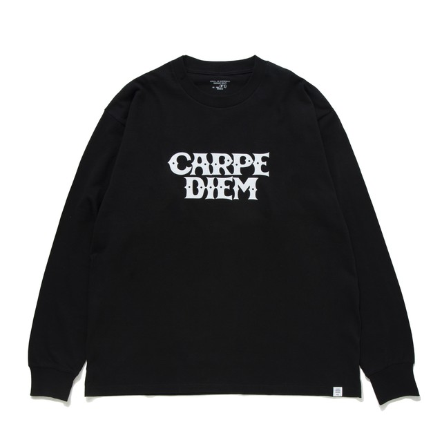 BEDWIN & THE HEARTBREAKERS x CARPE DIEM Long Sleeve shirt (黒)