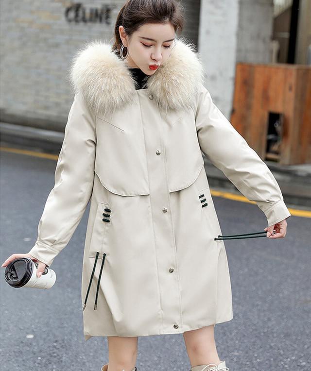 ボリュームたっぷりファー付き☆綿入れジャケット 中綿コート|全国送料無料! la0273