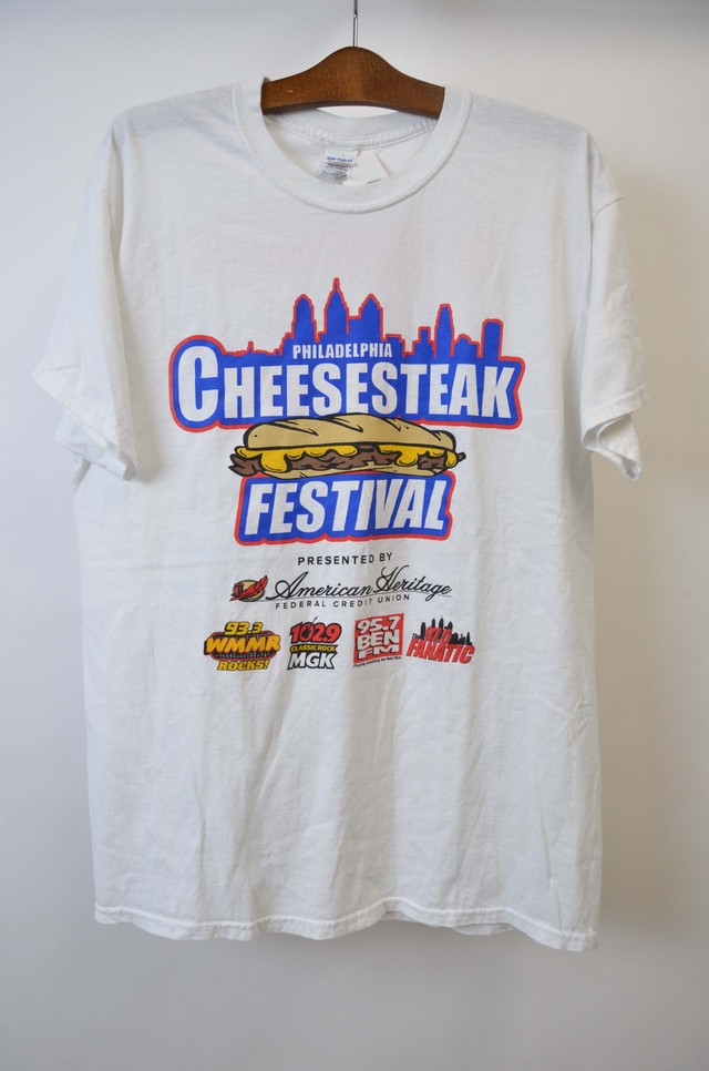 【Lサイズ】 PHILADELPHIA CEES STEAK FESTIVAL TEE 半袖Tシャツ WHITE ホワイト 400601190768