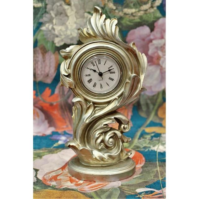 クラシカルカラーのアンティークスタンドクロック/置時計:浜松雑貨屋 C0pernicus