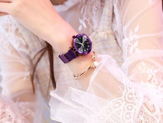 YUHAO LT-3266(purple) レディース腕時計