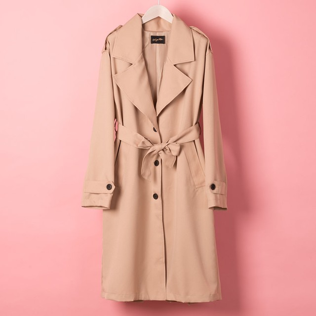 FRONT BOTTON TRENCH CORT (VN1801006)