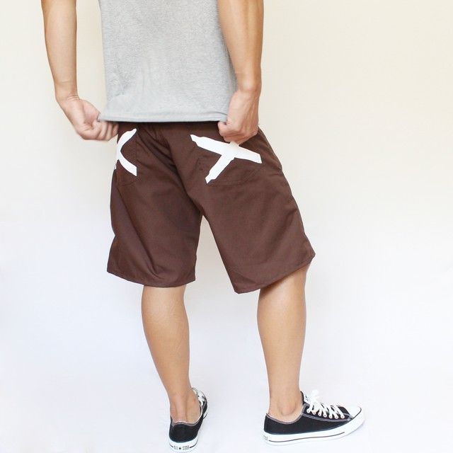 iggy shorts BROWN - メイン画像