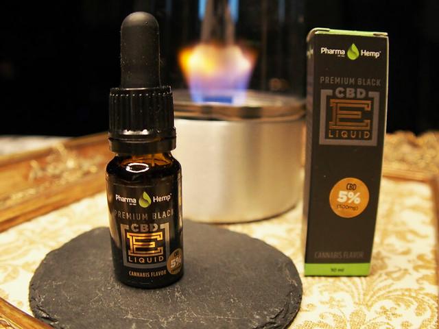 Pharma Hemp PREMIUM BLACK CBD E LIQUID 5% 10ml