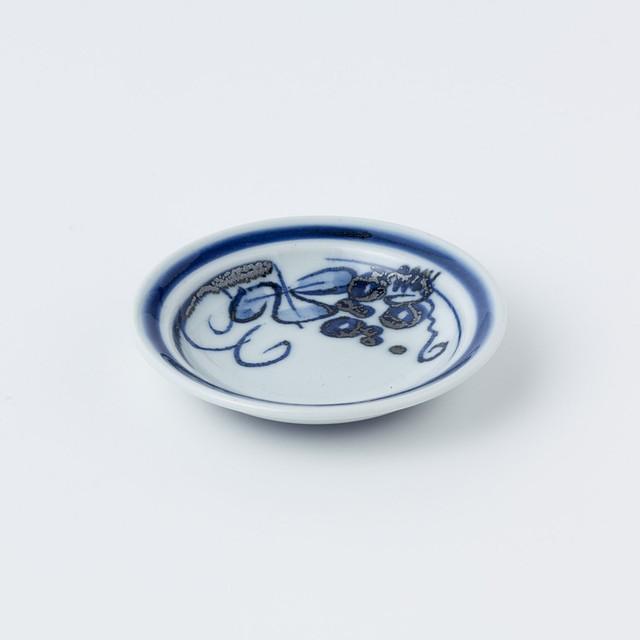 小皿(ぶどう)