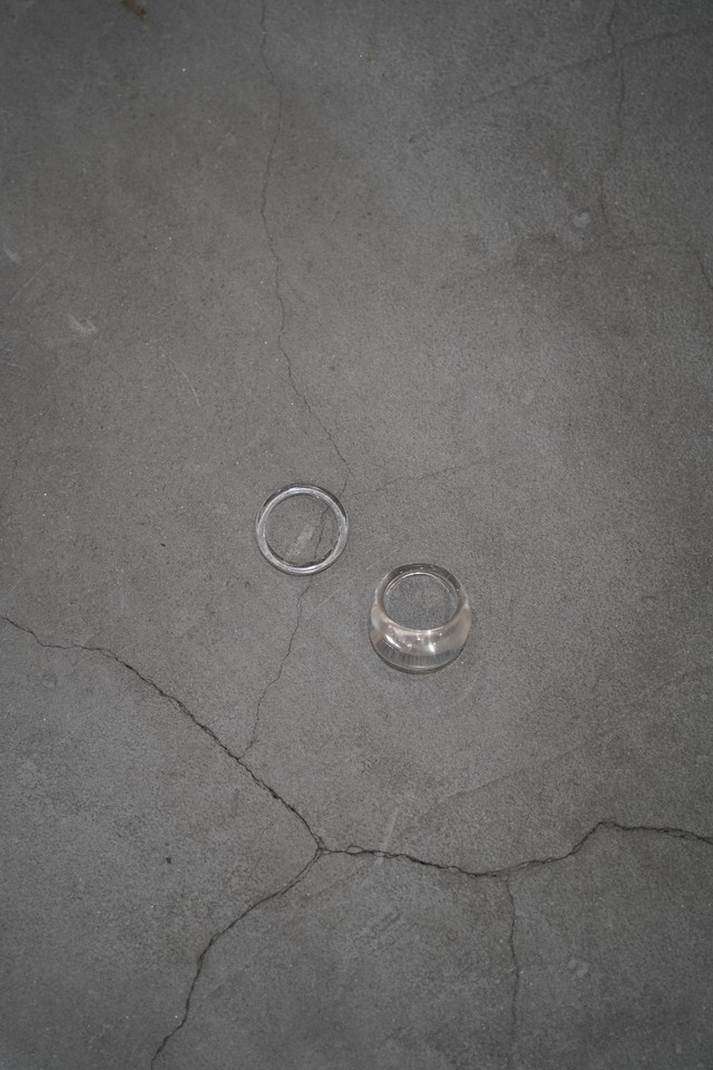"Addiction set ring ""clear"""