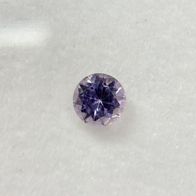 淡い紫系スピネル ラウンドカット 約4.4mm No.44-2