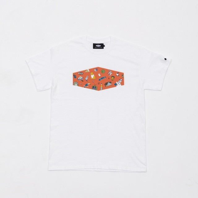 CRATE×Toyameg BoxLogoTee Orange