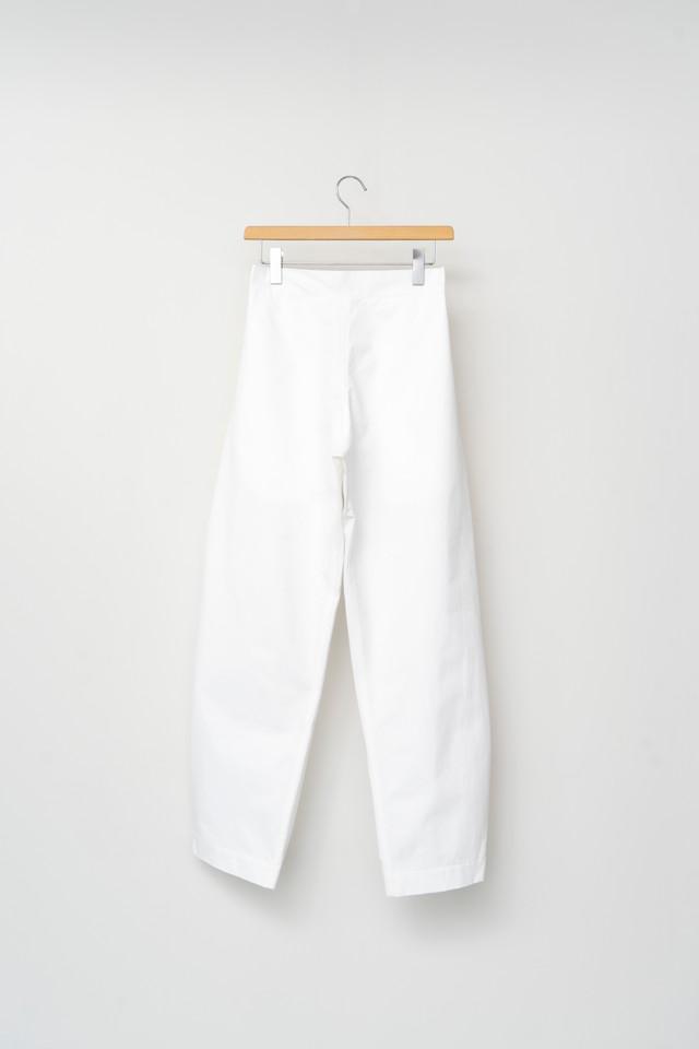 3MAN SACK TROUSER White 063011