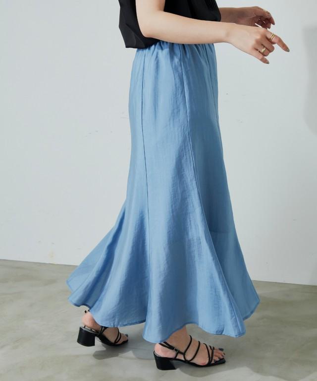 マーメイドラインスカート/BLU