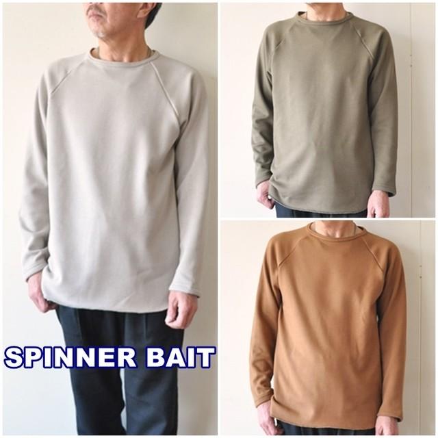 Spinner Bait スピナーベイト  ボンバーヒート  ラグランクルーネック カットソー  102BH