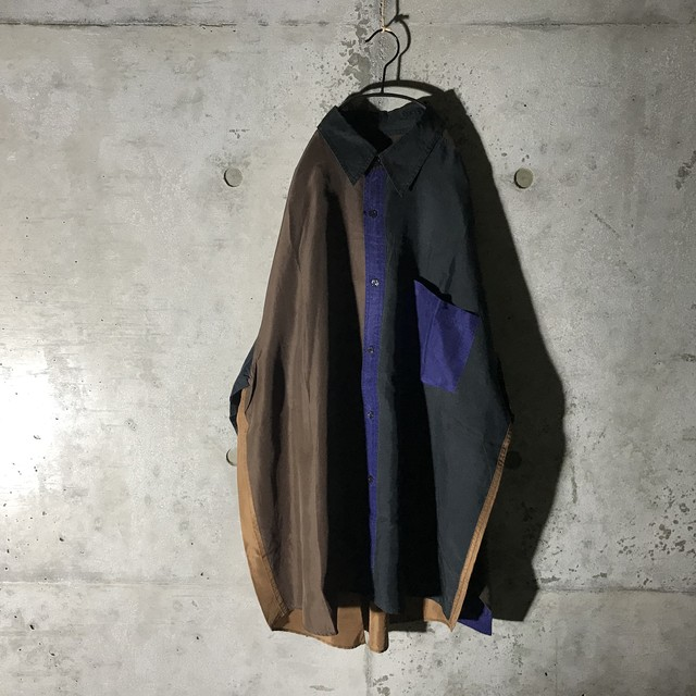 [used]4 colors switching shirt
